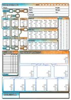 Era: The Empowered - Premade Character Sheets Pack