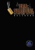 Era: Survival - Definitive Edition Rulebook