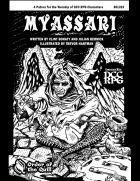 Myassari, Patron of Birth and Decay (DCC RPG)