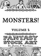Monsters! Fantasy Stock Art Volume 2