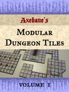 Axebanes Modular Dungeon Tiles Vol1