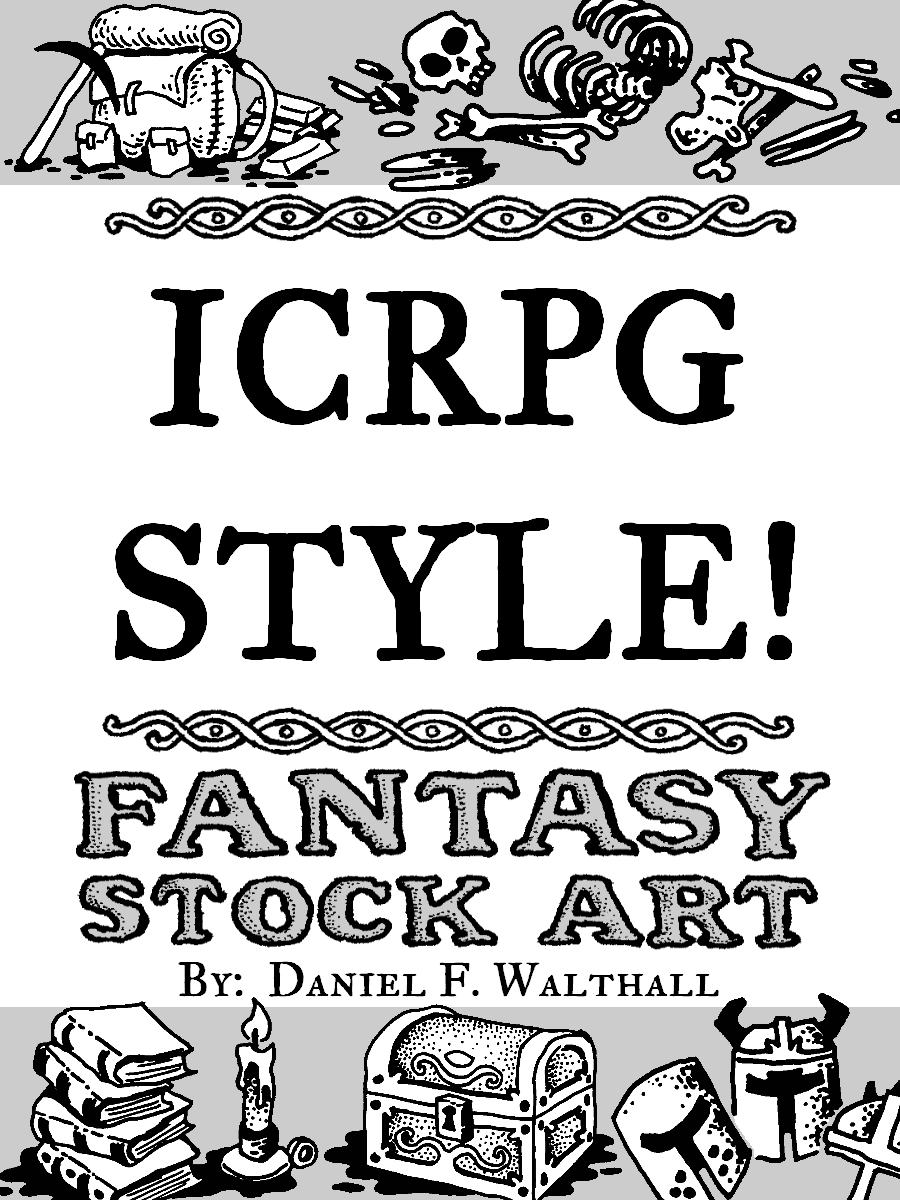 ICRPG Style! Fantasy Stock Art - Axebane Games | Dungeon Masters Guild
