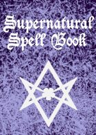 Supernatural Spell Book