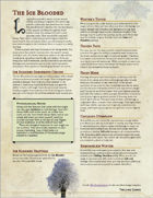 The Ice Blooded - A Sorcerous Origin