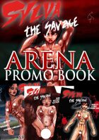 Sylva the Savage - Arena - PROMO BOOK - all the covers and promo-images