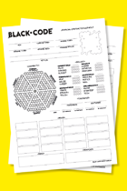 Black Code - Character Sheet