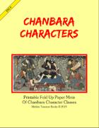 PM8 Chanbara Characters