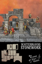 ScatterBlocks: Stonework
