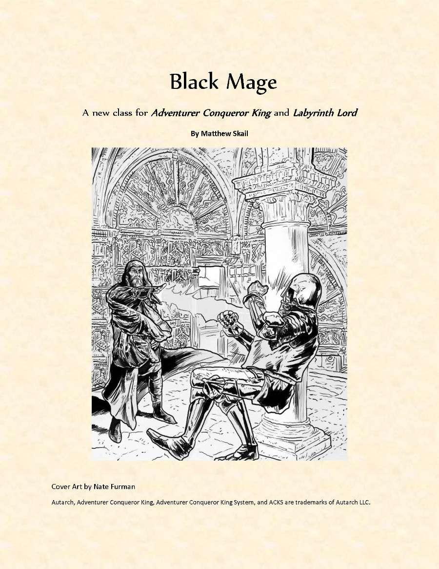 Black Mage Dys Games Drivethrurpg Com