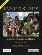 Divinities and Cults (Labyrinth Lord)