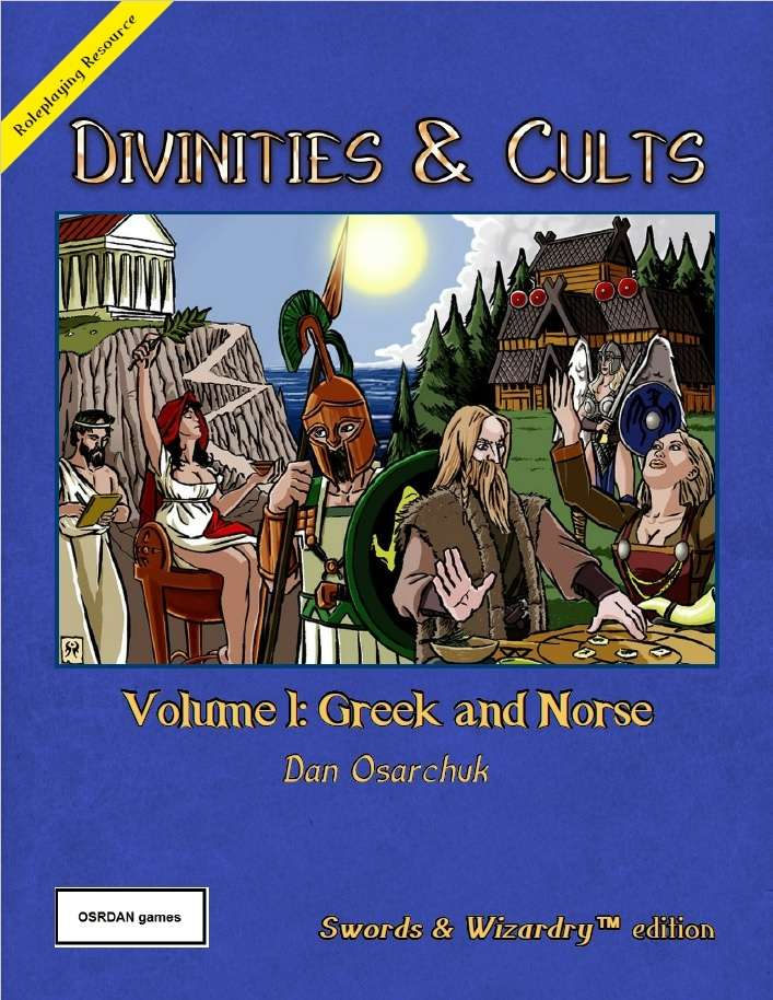 Divinities and Cults (Swords & Wizardry)