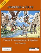 Divinities and Cults: Volume III (Labyrinth Lord)