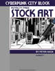 Cyberpunk City Block Stock Art #1