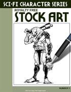 Sci-Fi Character Stock Art #1