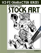 Sci-Fi Character Stock Art #4