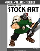 Super Villain Stock Art #1
