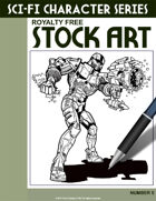 Sci-Fi Character Stock Art #5
