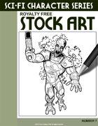 Sci-Fi Character Stock Art #7