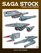 Saga Stock (Federal Class Starship)