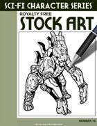 Sci-Fi Character Stock Art #10