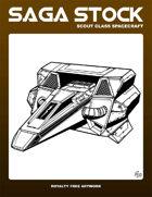 Saga Stock (Scout Class Spacecraft)