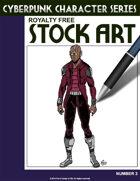 Cyberpunk Character Stock Art #3