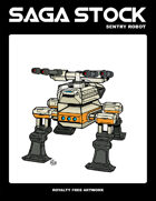 Saga Stock (Sentry Robot #2)