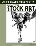 Sci-Fi Character Stock Art #12