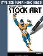 Stylized Super Hero Series #2