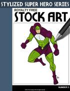 Stylized Super Hero Series #3