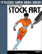 Stylized Super Hero Series #5