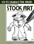 Sci-Fi Character Stock Art #13