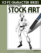 Sci-Fi Character Stock Art #15