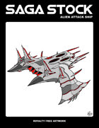 Saga Stock (Alien Attack Ship)