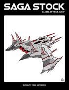 Saga Stock (Alien Attack Ship)