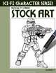 Sci-Fi Character Stock Art #17