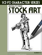 Sci-Fi Character Stock Art #21