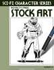 Sci-Fi Character Stock Art #23