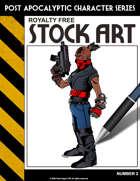 Post Apocalyptic Character Stock Art #2
