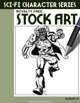 Sci-Fi Character Stock Art #25