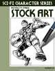 Sci-Fi Character Stock Art #26