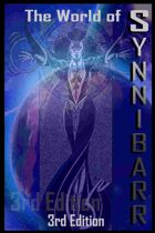 The World of Synnibarr 3rd Edition: GM Screen (Portrait)