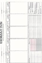 Domains Horror Roleplaying System Character Sheet