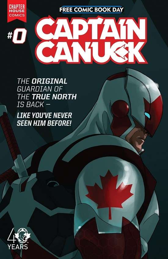 Captain Canuck - Free Comic Book Day #0