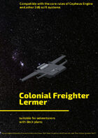 Colonial Freighter Lermer