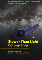 Slower Than Light Colony Ship