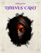 Gene's Guide to Thieves' Cant