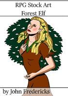 Forest Elf- RPG Stock Art