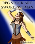 Swordswoman: RPG STOCK ART