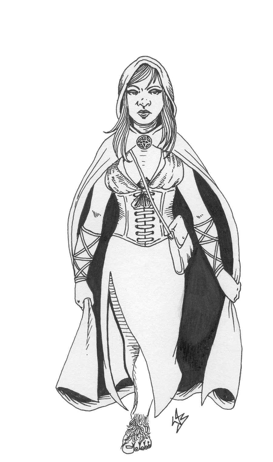 Witch for Swords & Wizardry Halloween 2017 [BUNDLE]